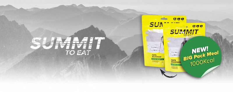 Summit to eat big pack meals