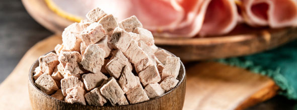 Cooked Diced Ham/Smoked Ham 7-9mm
