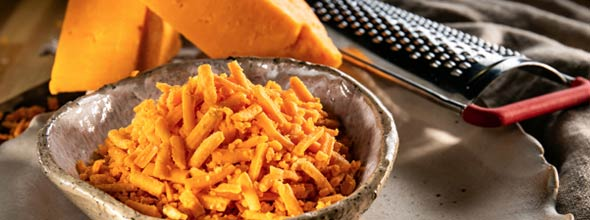 Red Leicester Grated